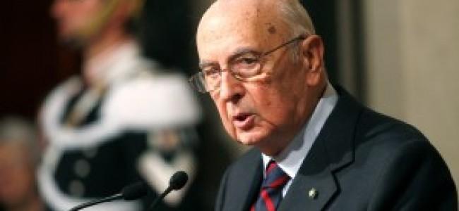 Francesc Trillas: Important dicurs de Giorgio Napolitano al Parlament Europeu